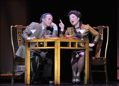 Joseph Anthony Foronda & Erin Quill in 50th Anniversary Production of Flower Drum Song at AMTSJ