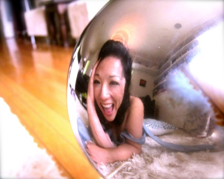Ok I lied, I have a crystal ball (Photo by Dr. Michelle Ko)
