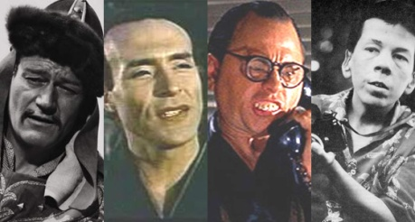 Why yes, they ARE all Caucasian Actors in bad makeup and NO, they do not look Asian AT ALL