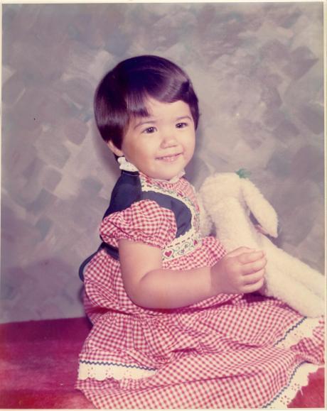 See? This was me as a kid, and I grew - he'll grow fast enough