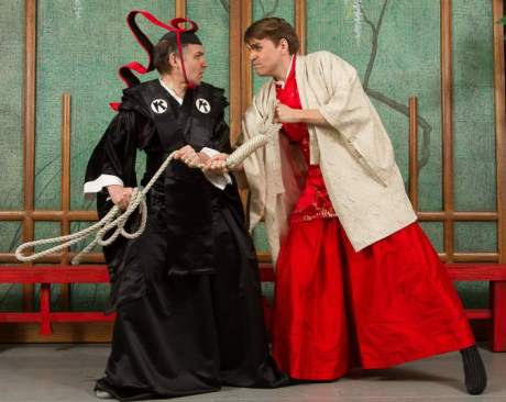 Still from Seattle G&S Mikado