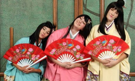 Production Still: Seattle Gilbert and Sullivan's Production of THE MIKADO