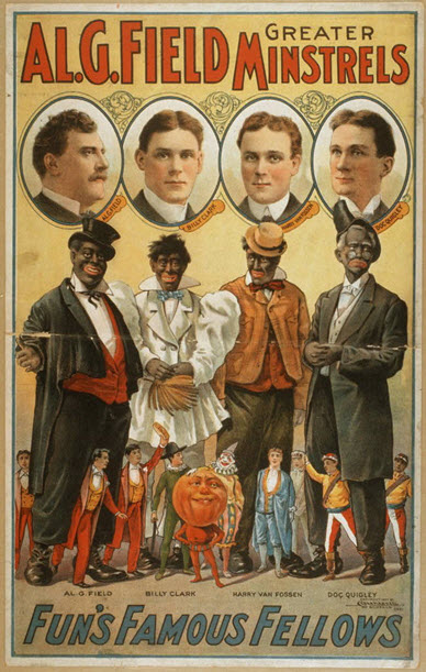 AL-G-Fields-Minstrels-New-York-Blackface-Jump-Jim-Crow-TD-Rice-1828