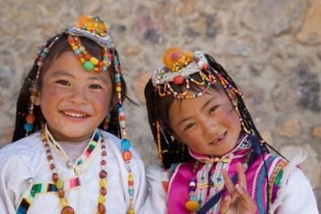 tibet-girls